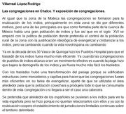 Exposicion y congregaciones de Chalco 1