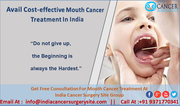 Avail cost-effective Mouth Cancer Treatment in India