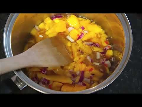 Quick and easy mango chutney