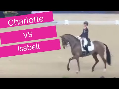 Isabell Werth VS Charlotte Dujardin In The Grand Prix Dressage Freestyle!