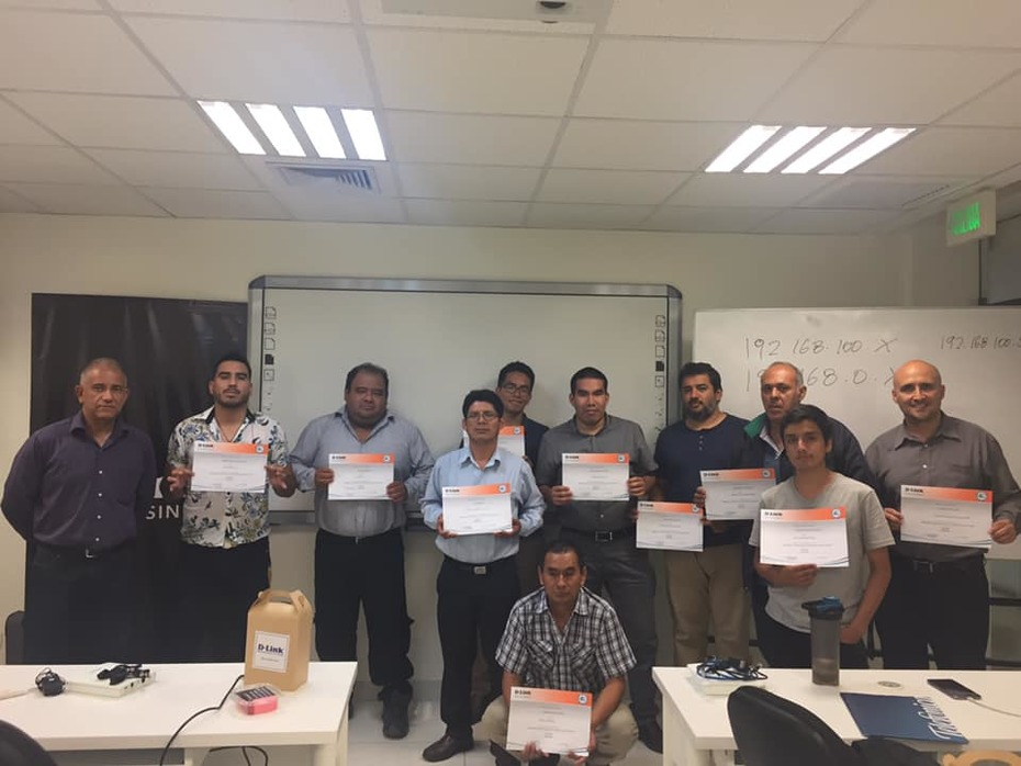 Partners training with D-Link Academy