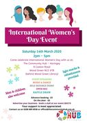 International Womens Day Event 14.03.20