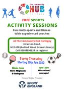 Free Sports Activity Sessions