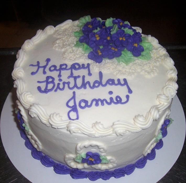 Violets for Jamie