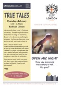 True Tales - An Open Mic Evening