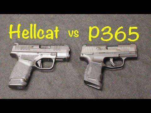 Springfield Hellcat vs Sig P365