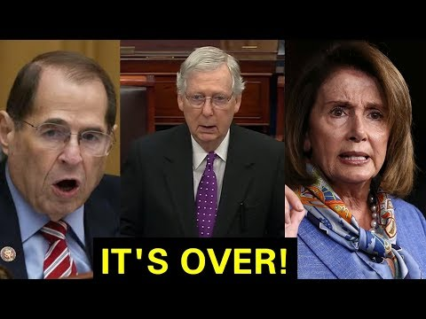 """IMPEACHMENT IS OVER"" MITCH MCCONNELL SENDS SHOCKWAVES TO ENTIRE DEMOCRATS"