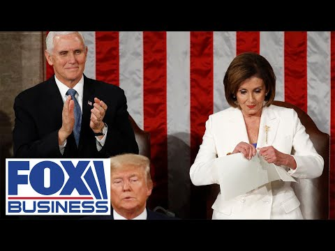 Scalise reacts to Pelosi ripping Trump's speech at State of the Union