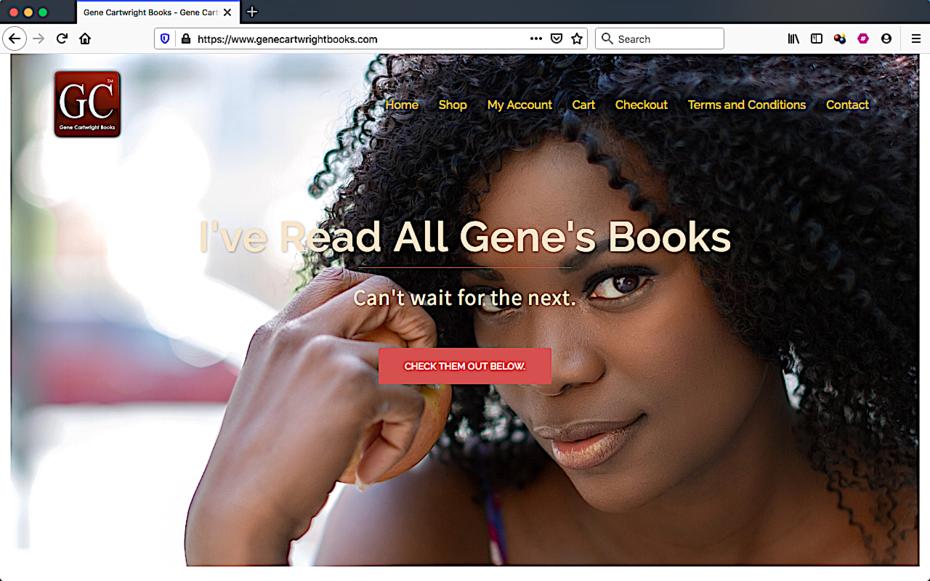 Gene Cartwright Books - reader