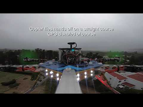 Hexacopter with power assist