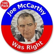 joe mccarthy right badge~ HE WAS RIGHT ~~~~~