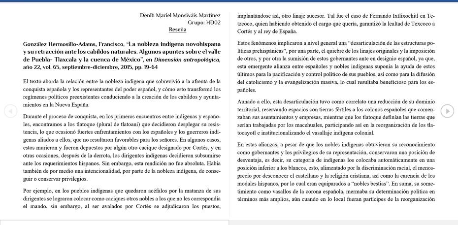 Reseña Nobleza Indígena (parte1)