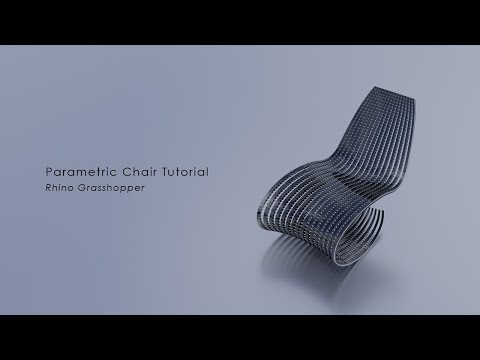[Tutorial] Parametric Chair in Rhino_Grasshopper