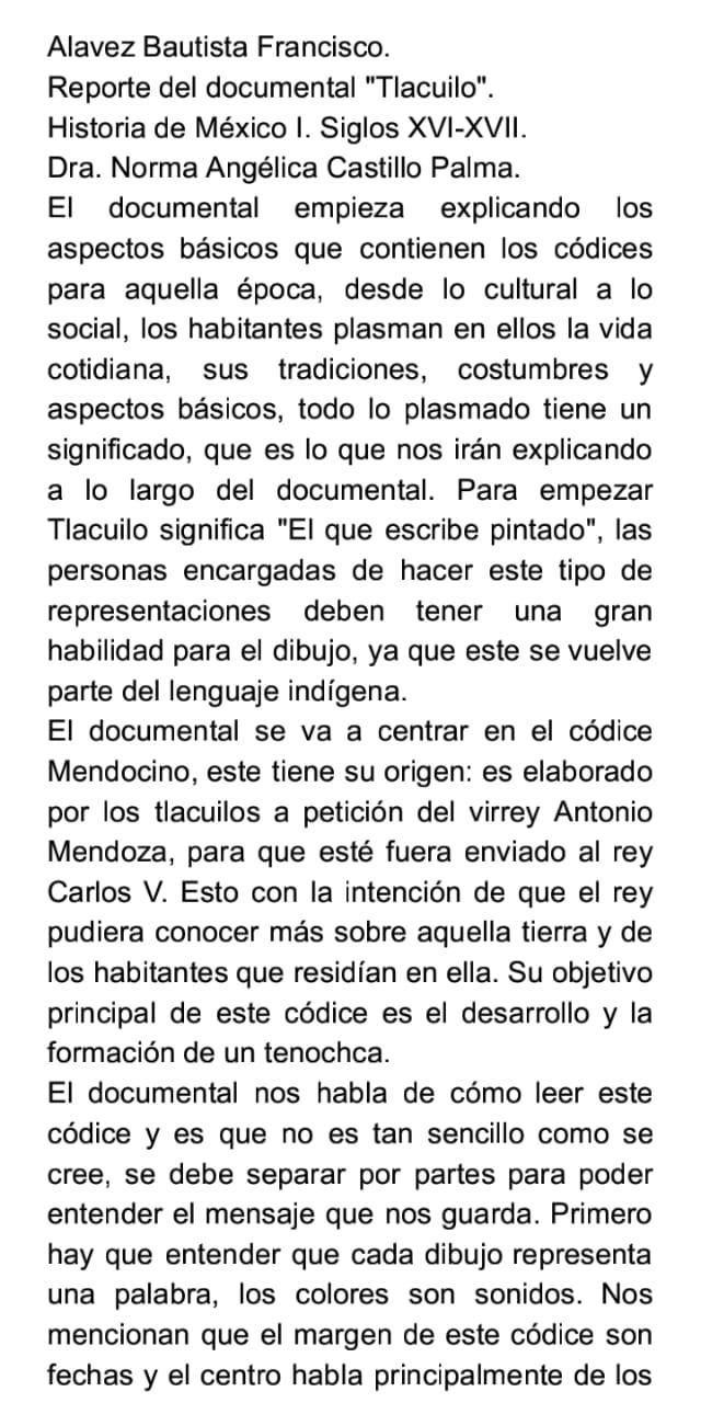 Documental Tlacuilo.