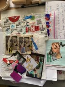 A wonderful assortment of mail art from Mary Anne