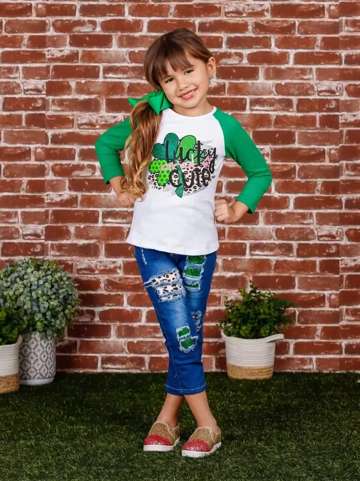 Big Sale On Girls St. Patrick's Day Kids Clothing