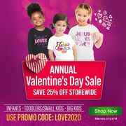 Annual Valentines Day Sale