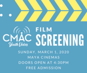 CMAC Youth Voices Film Screening