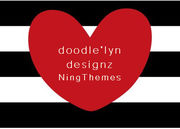 doodle'lyn designz  (Ning Themes) to use on your profile page