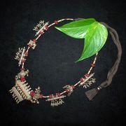 Vintage Silver Amulet Case Necklace