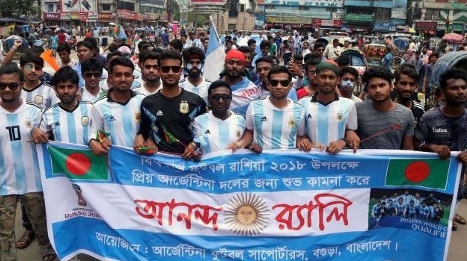 Bangladesh y la selección de Argentina