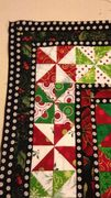 "first set of borders for  ""Fox in the Christmas Hen House"""