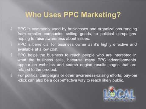 Potential Benefits of Pay Per Click Marketing? | Local Management