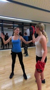 SELF-DEFENCE CLASSES WOMEN and GIRLS AGED 12 + on Tuesdays (6 week block beg 25th Feb)