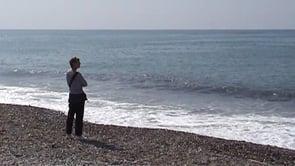 Antalya - der Strand bei Schlecht- und Schönwetter