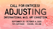 Adjusting: a postal art exhbition