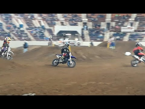 Young Riders Battle It Out ArenaCross At the 2020 Motorama, Harrisburg
