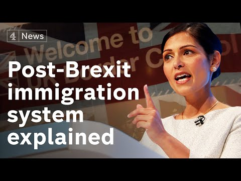 Low-skilled workers will be denied UK visas in points-based immigration system after Brexit