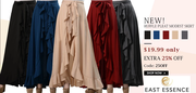 Extra 25% off on modest skirts