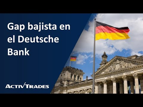 Video Análisis: Gap bajista en el Deutsche Bank