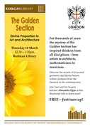 Golden Section free talk