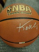 Likely Not Genuine: KOBE BRYANT SIGNED BASKETBALL, WITH COA! GREAT CNDTN, SIGNED @ WACHOVIA CTR 2004 $227.50