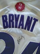 Likely Not Genuine: Kobe Bryant Signed Authentic Autographed jersey Los Angeles Lakers. $699