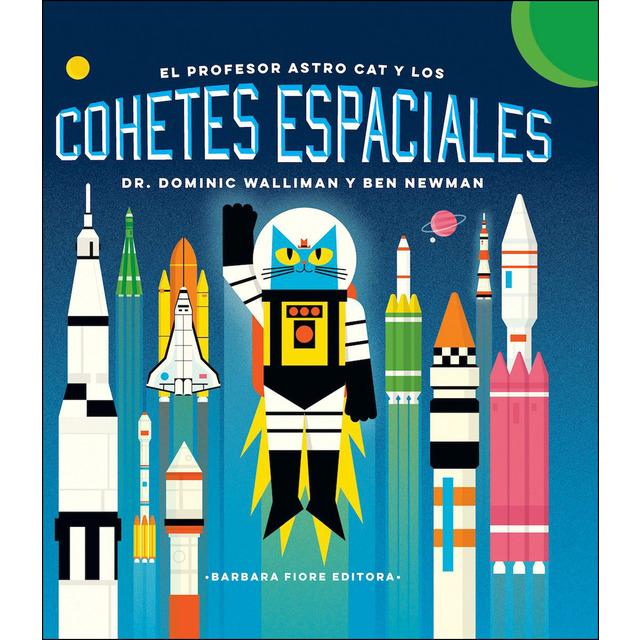 El profesor astro cat y los cohetes espaciales