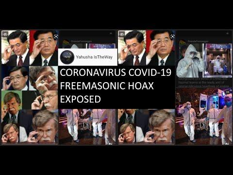 Coronavirus COVID-19 Freemasonic Hoax Exposed