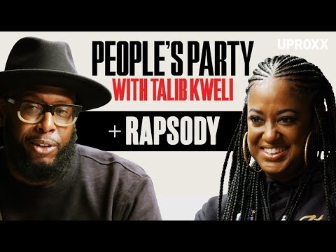 Talib Kweli & Rapsody Talk Rap Influences, Being Pro Black, Kendrick, Jay Z, Eve | People's Party