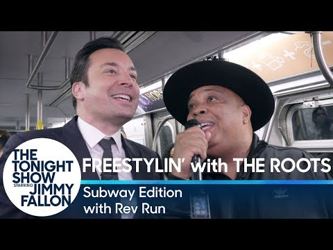 Freestylin' with The Roots with Rev Run: Subway Edition