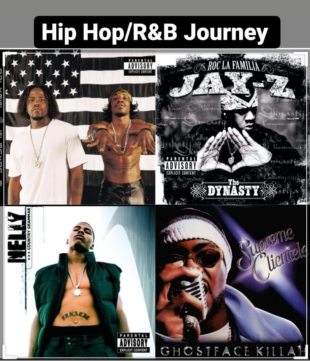 Hip Hop and R+B Journey Show 91