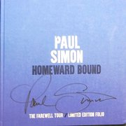 Paul Simon signed LIMITED SIGNED 'HOMEWARD BOUND' TOUR BOOK
