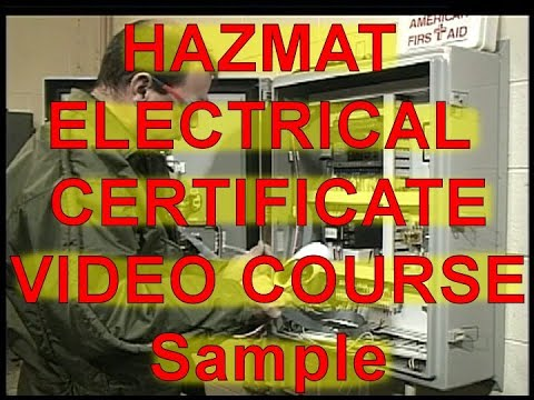 Electrical Safety Training video | OSHA HAZMAT - Hazwoper training Certificate Course