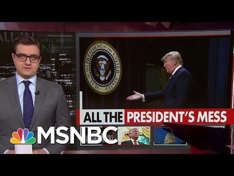 More examples of Trump obstruction of Justice Chris Hayes MSNBC All In