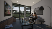 Interior of Bottom-up apartments 2