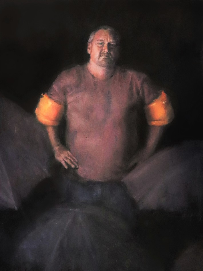 Wings | Oil on linen | 30 x 40 in | 2016