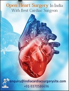 Open Heart Surgery In India With Best Cardiac Surgeon..