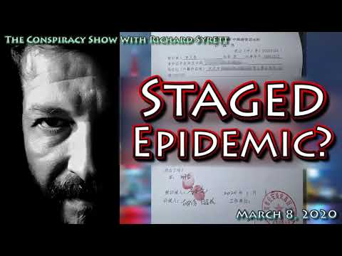 Could COVID-19 be a staged epidemic?