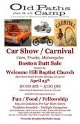 OLD PATHS CAMP - CAR SHOW & CARNIVAL